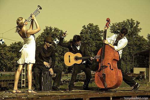 """Jenny Ball (Eng), David González Bernardos (Spain), Alfonso Acosta """"Pantera."""" (Mexico) Luis Díaz """"Icho"""" (Mexico)"""