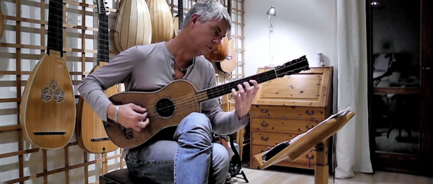 "Rolf Lislevand skillfully makes this 1679 Stradivarius ""The Sabionari"" sing"