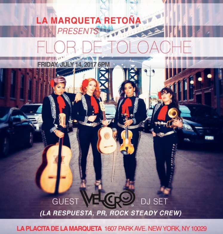 TOMORROW 7/14 @6pm La Placita de la Marqueta