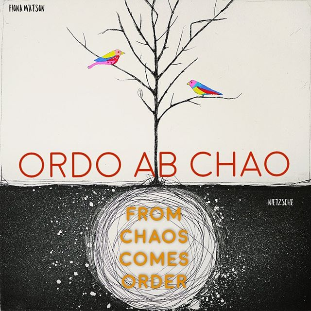 #ordoabchao #fromchaoscomesorder #nietchze #latin #slogan #ilanameanstree