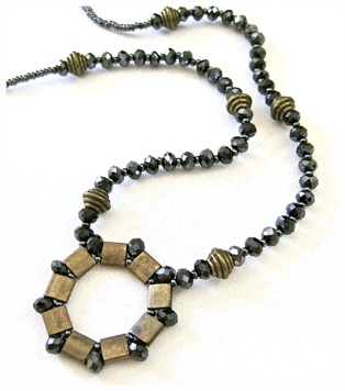 Bright And Muted tila Bead Necklace.jpg