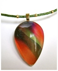Glass Teardrop Pendant Necklace.jpg
