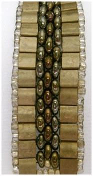 Bronze And Iris Gold Tila Bracelet.jpg