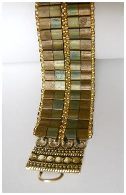Metallic Tone Woven Tila Bracelet.jpg