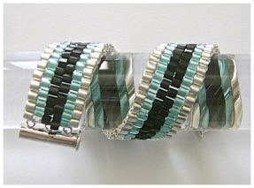 Six Stripe Peyote Stitch Bracelet.jpg