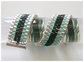 Six Stripe Peyote Stitch Bracelet.jpg