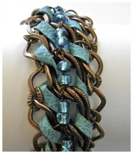 Turquoise And Copper Bracelet.jpg