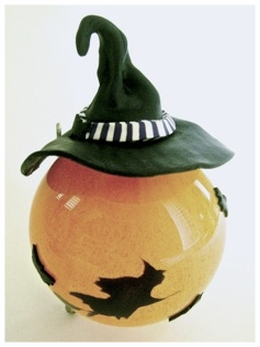Flying Witches Glass Ornament.jpg