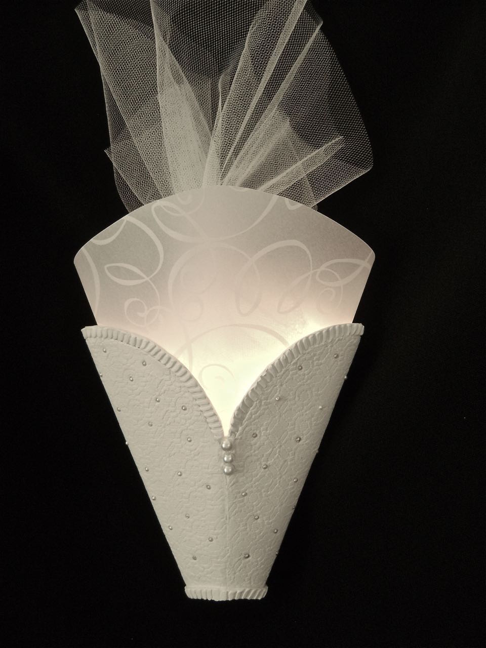 See the Bride Sconce Light