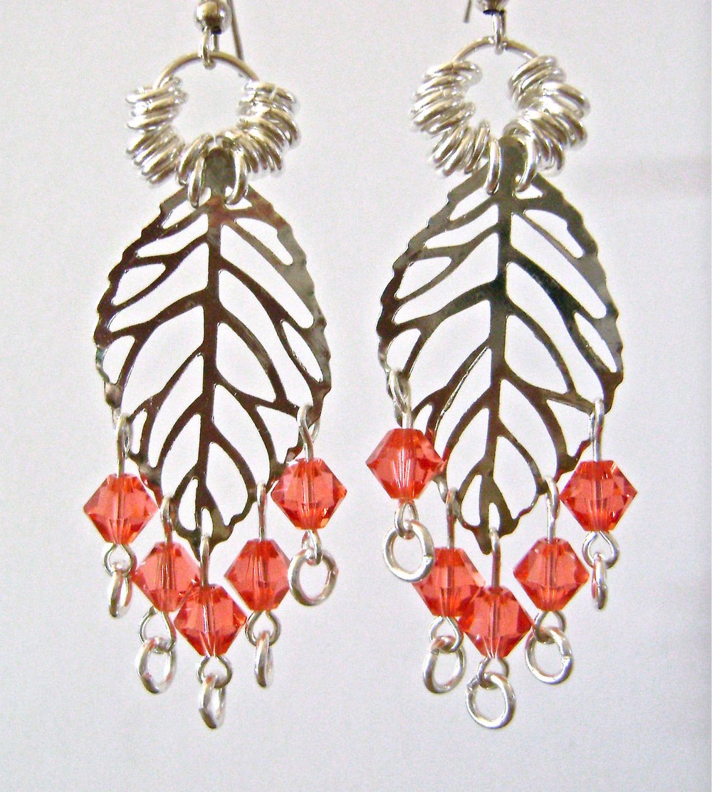 "earrings measure 2.75"" long"