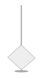step 1 - Slip a headpin wire into a bicone bead.