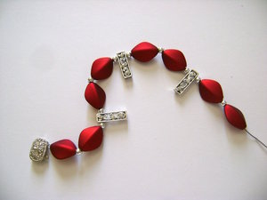 necklace strand nz jewelry bead market turquoise beads red statement making for triple etsy inch il