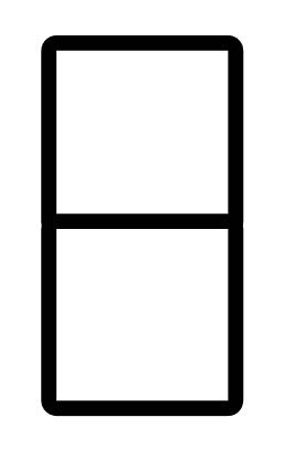 step 2 - Stack the two squares with the left edges aligned to begin your first column.  Group the two squares.
