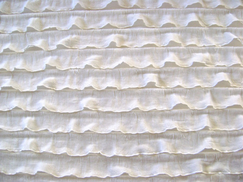 Ruffled Fabric