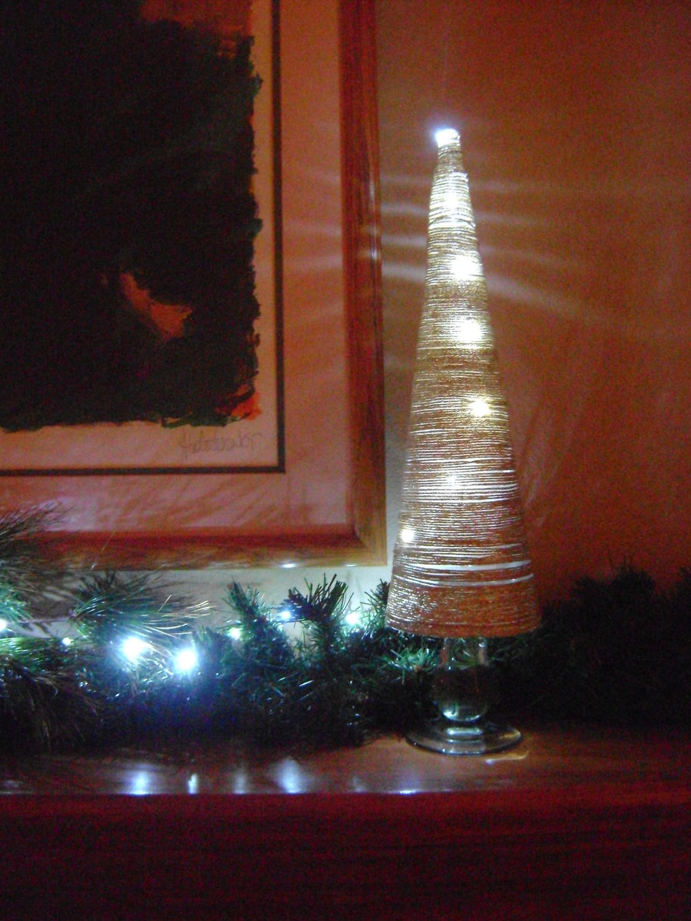 2012 Golden Lights Cone Tree