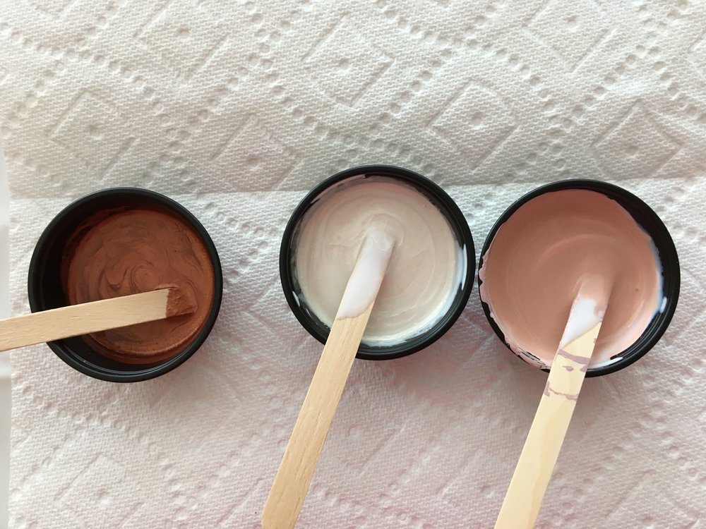 step 4 - Stir it gently with a craft stick.