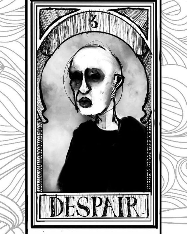 👁👁👁 __  __  __  __  https://en.m.wikipedia.org/wiki/Hellmouth  __  __  __  #art #artistsoninstagram #artistsofinstagram #artistic #artistatwork #digital #wicca #pagan #weirdart #wiccan #abstractart #comicart #contemporaryart #ink #tarot #tarotcards #drawing #illustration #digitaldrawing #photoshop #illustration #bostonart #gay #brianhuntress 💐💐💐