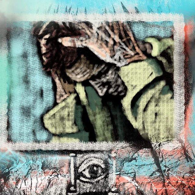 What a wild few weeks its been. Fûçk łhė šÿśłèm  ___  ___  ___  ___  ___  __  #art #artistsoninstagram #artistsofinstagram #artistic #artistatwork #curiousities #oddity #oilpainting #oilpaint #painting #shellac #contemporarysculpture #contemporaryartwork #contemporarypainting #newcontemporary #sculptor #sculpture #illustration #artwork #oilonpaper #directpainting #creepy #creepyartwork #bostonart #bostonartist #brianhuntress 🌙🌙🌙