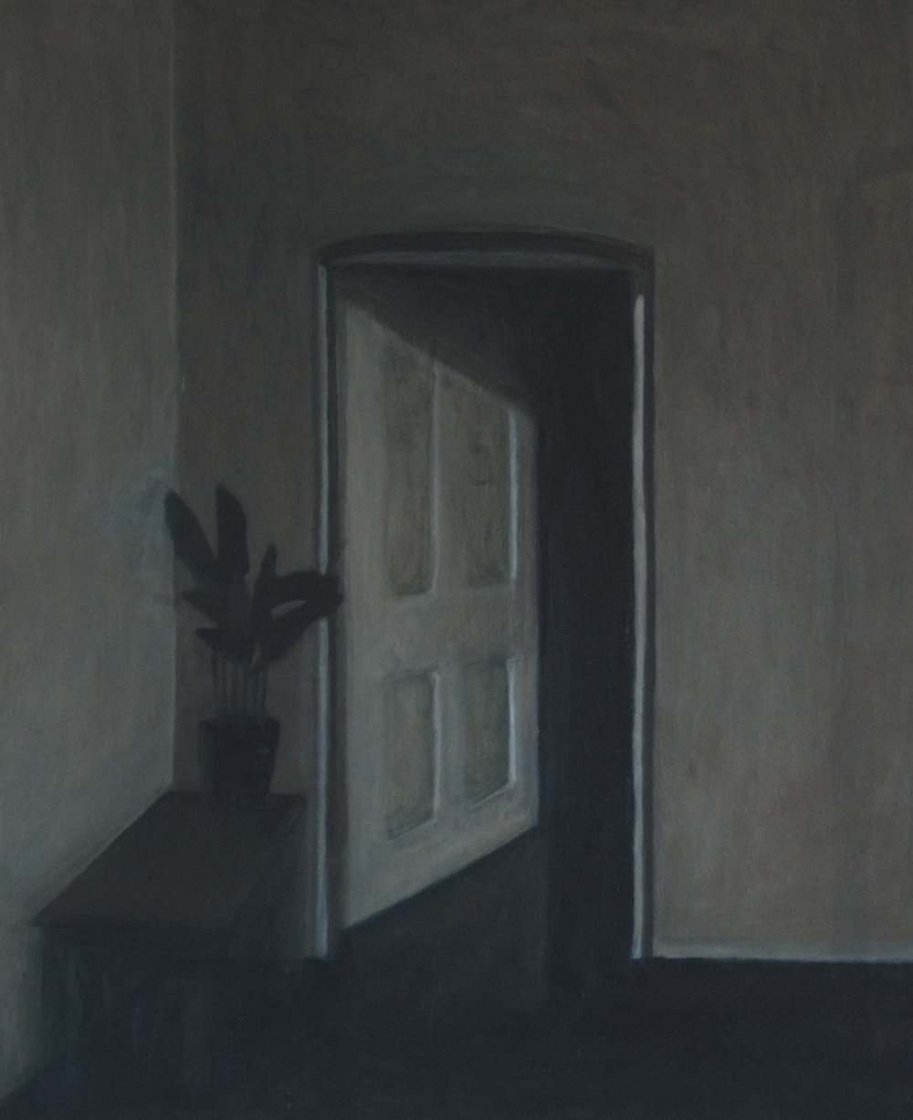 Doorway and Plant