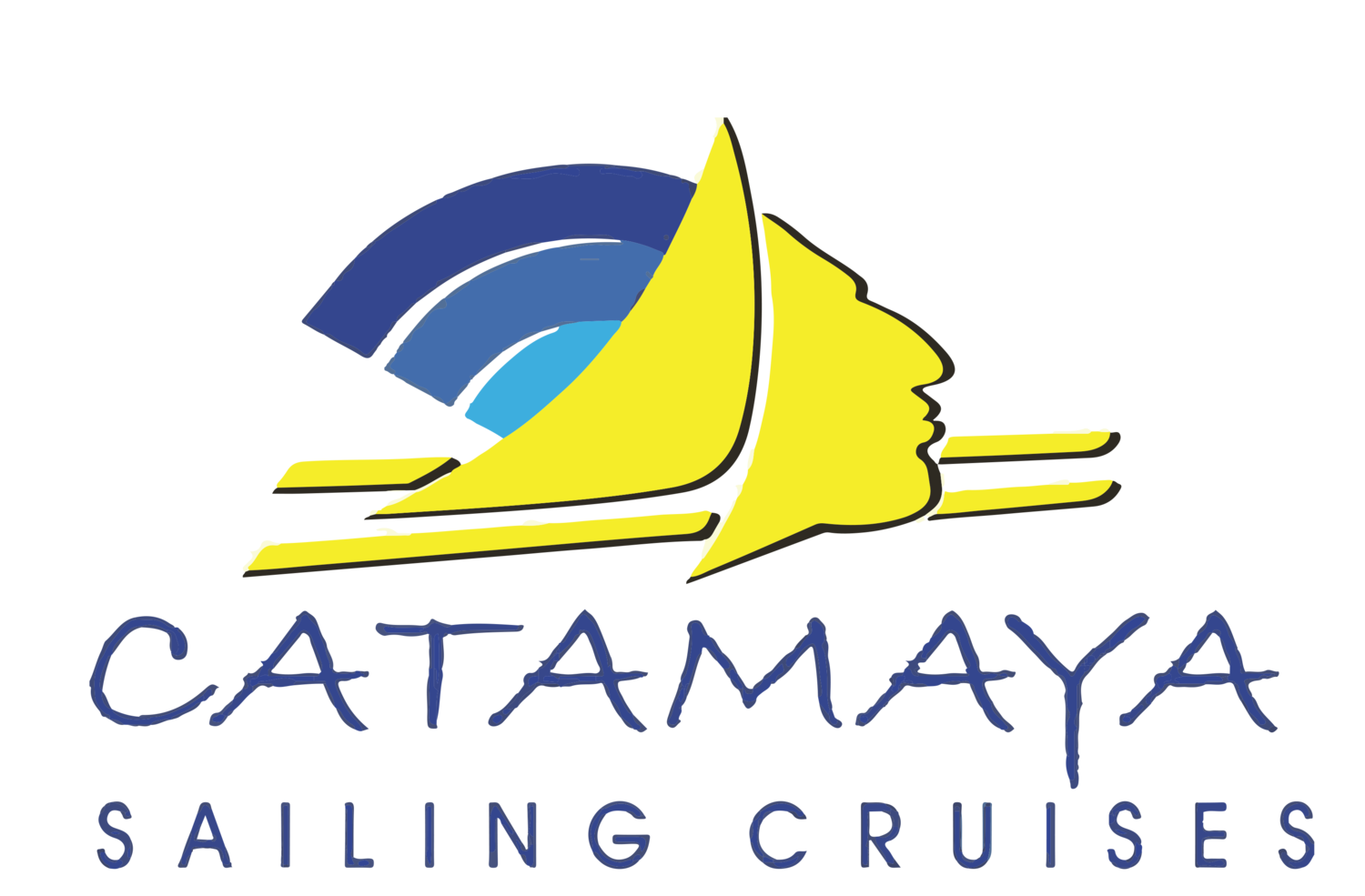 Catamaya Sailing Cruises | Catamaran in Puerto Aventuras, Riviera Maya. Snorkel Tour, fishing & Lobster lunch
