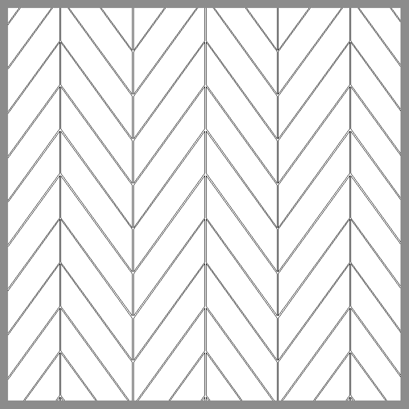 CHEVRON (LOOSE OR MESH-MOUNTED)
