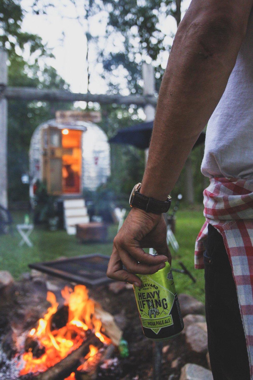 Campsite | Girard, Michigan