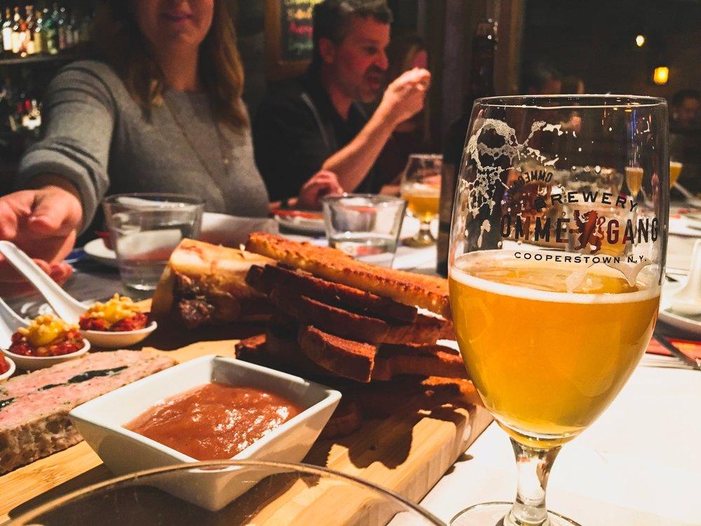 Boston, Massachusetts | Ommegang beer dinner at the Blue Dragon