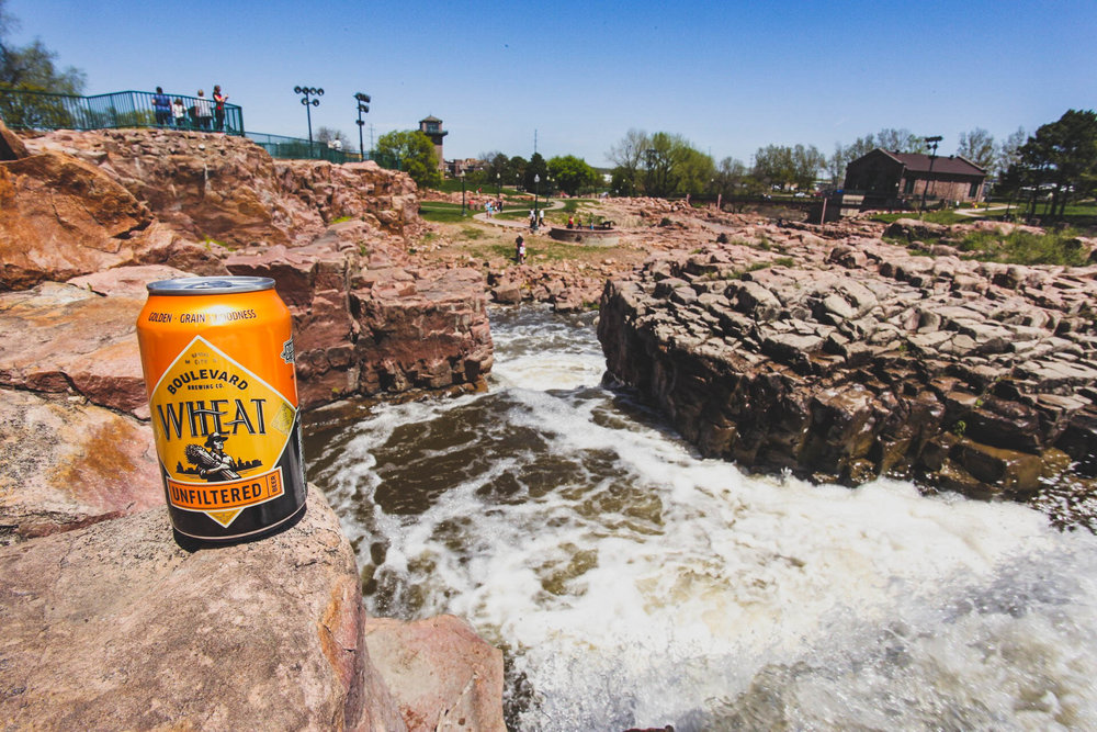 Unfiltered Wheat doing some sight seeing at The Sioux Falls | Sioux Falls, South Dakota