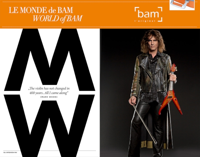 Click here (or on above image) to read a great interview with Mark Wood (in English and French) from the BAM Cases catalog.