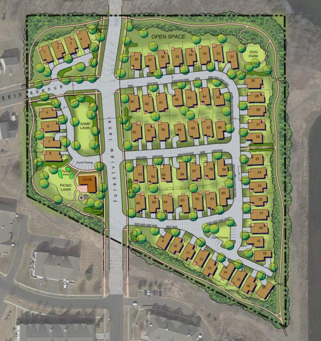 "Proposed Development ""Mills Creek"""
