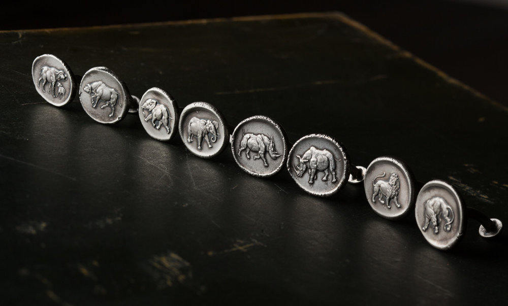"The Explora | December 2014     ""A totally handcrafted and hand produced cufflink which will be very limited in production as we have guns to engrave!""  read more"
