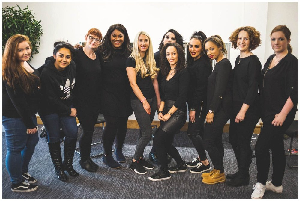 ella creative academy make up course