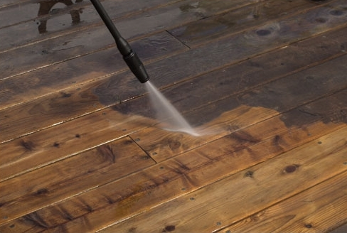 PRESSURE WASHING  Overtime grime and dirt can linger on your exterior surfaces. Using a strong detergent and a powerful pressure washer, we will blast away years of dirt without harming your surfaces.
