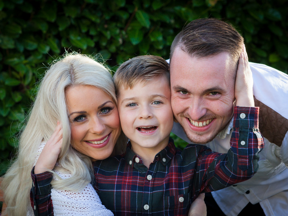 Family Portrait Photographers Bristol | Black Tie Portraits