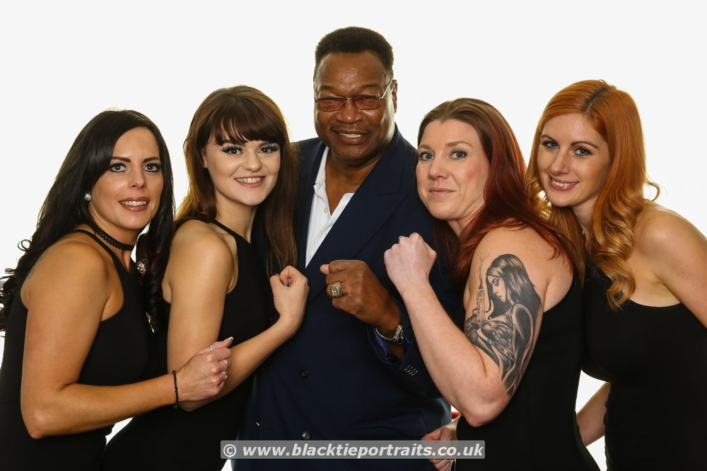 Larry Holmes, former World Heavy Weight Boxing Champion.