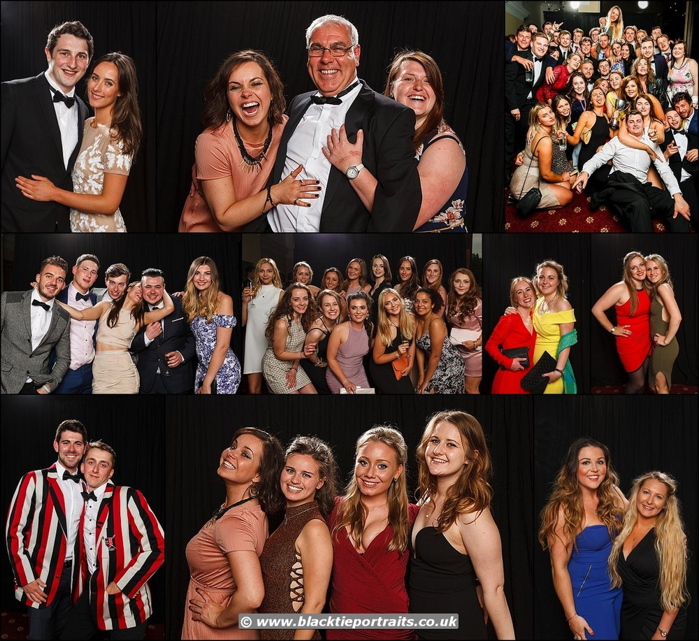 University Event Photographer Bristol | Black Tie Portraits