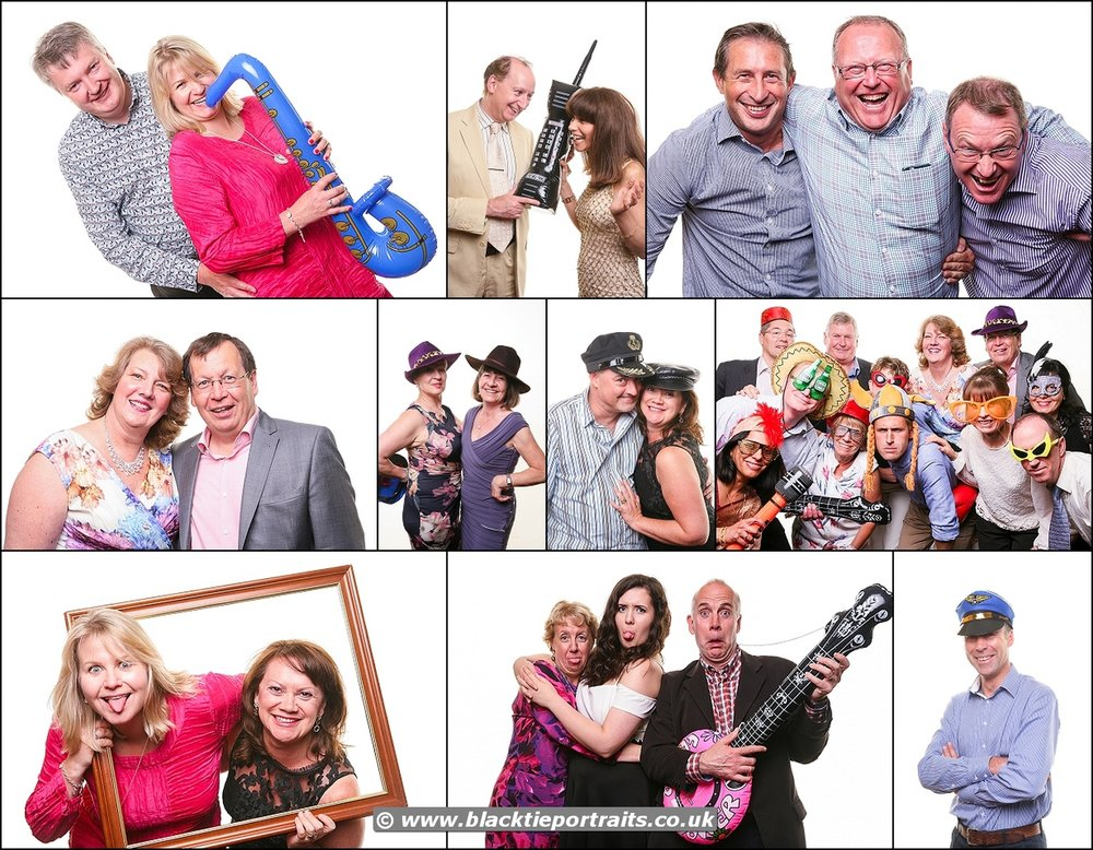 Bristol Party Booths | Black Tie Portraits