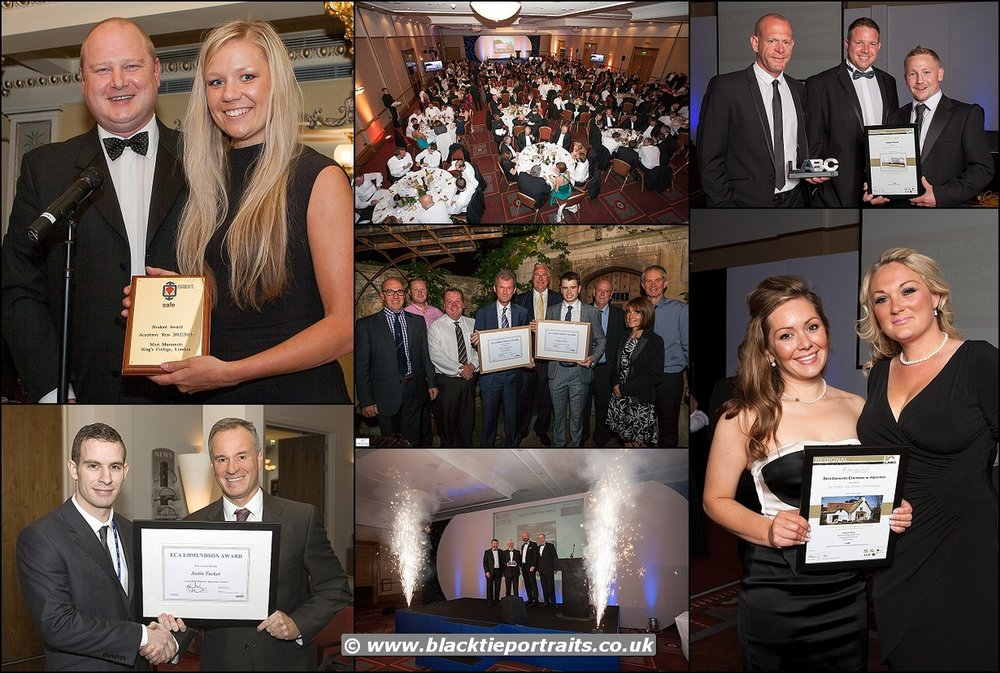 Corporate Awards Photographer Bristol | Black Tie Portraits