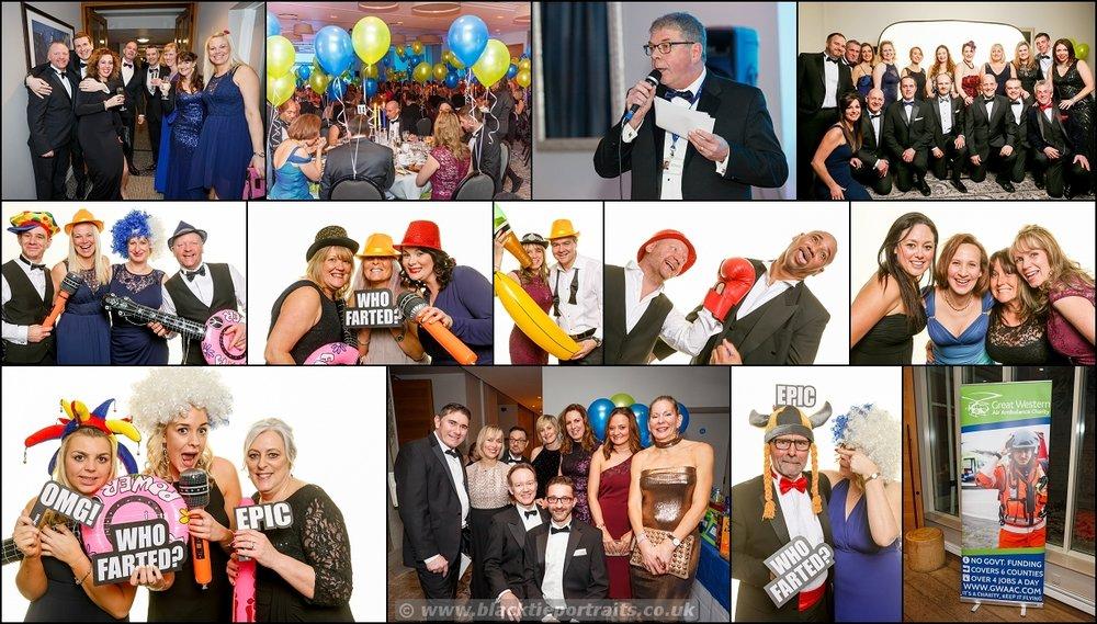 Charity Ball Photograper | Black Tie Portraits