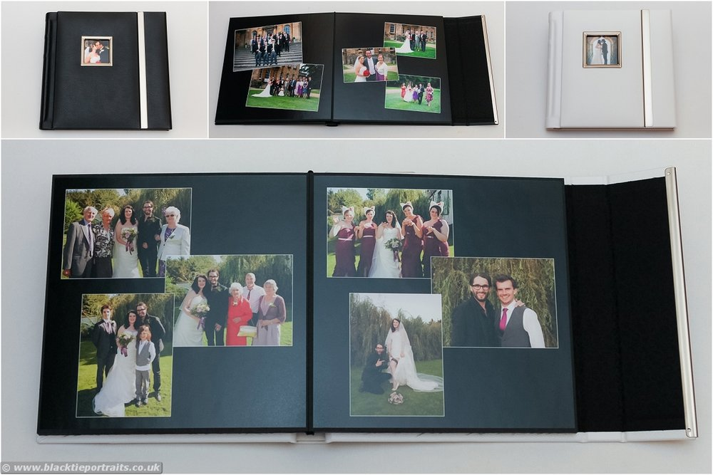 Beautiful mixed size wedding album from MTA (optional extra)