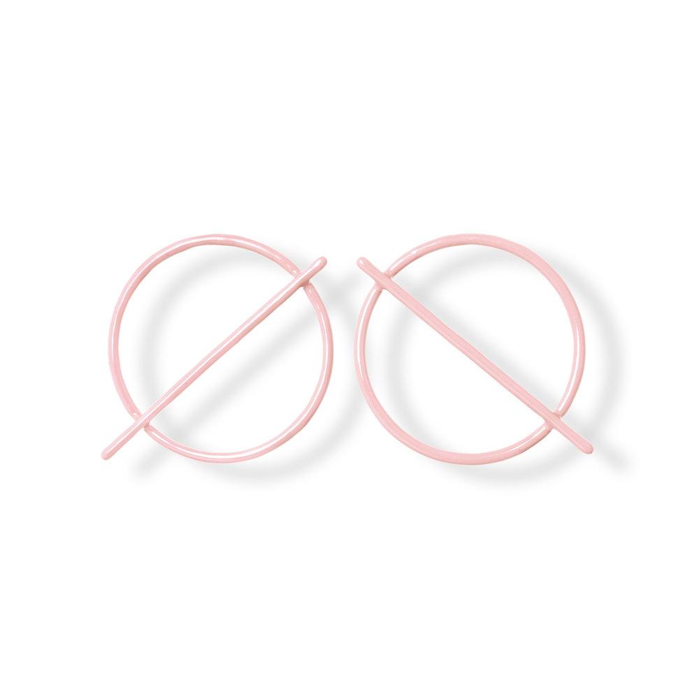Orbita Earrings - Pink
