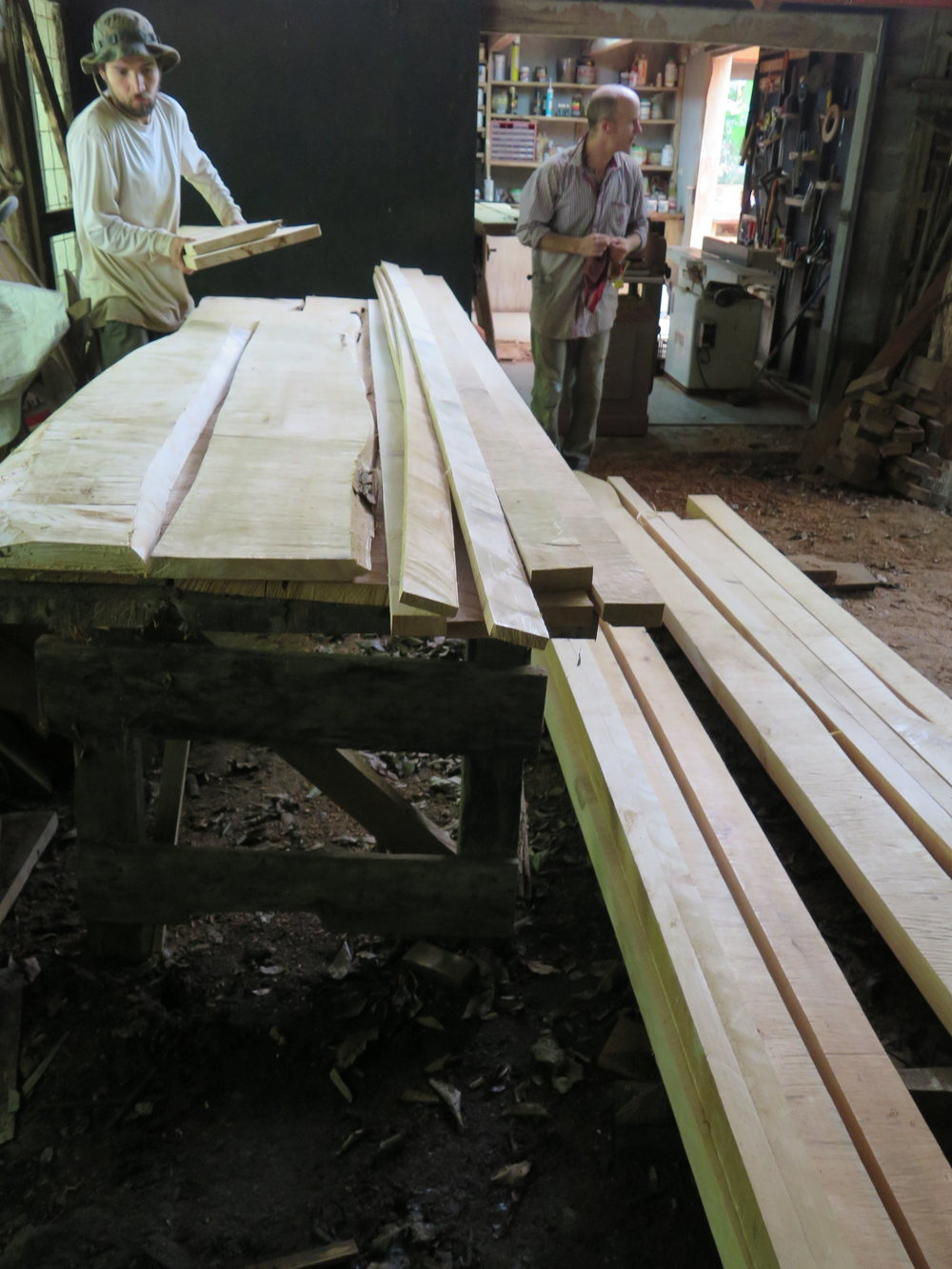 Sorting the Timber