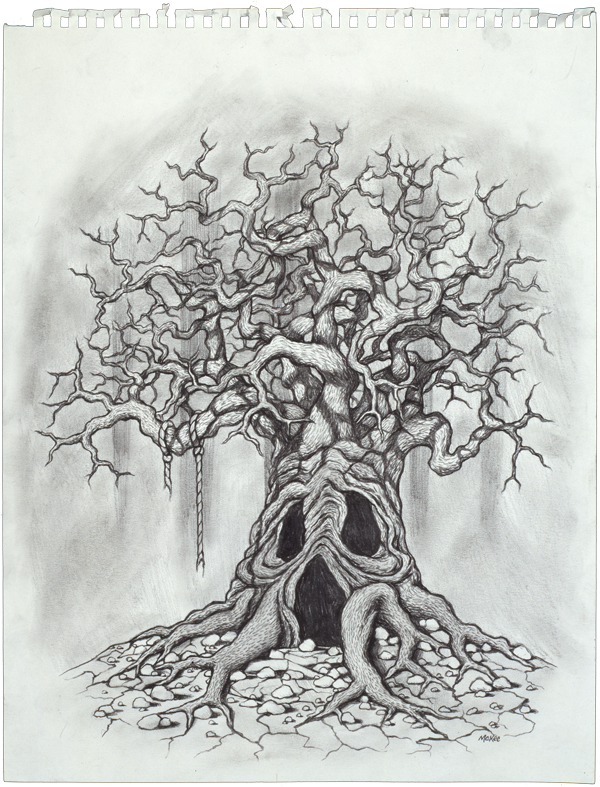 Division 23 Tree (3/3) / 1997 / sold