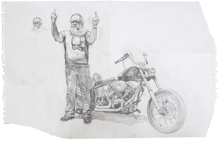 Norm / pencil on paper / 1994