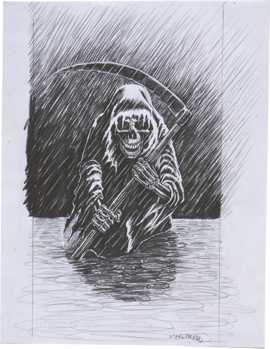 Raining Blood / pencil on paper / 2007