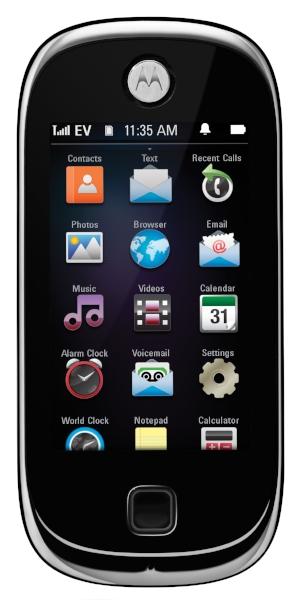 SimpleTouch OS released on Motorola Evoke QA4