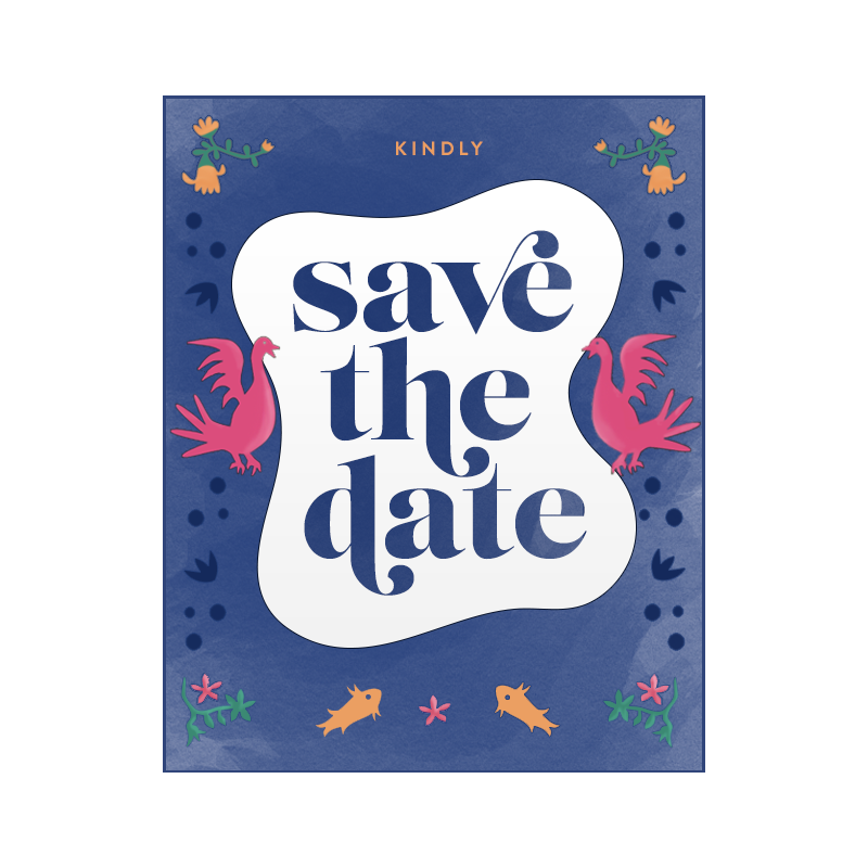 Save the Date Invite