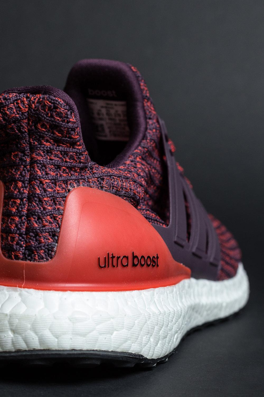 5dd6adf02ae adidas Ultra BOOST 4.0  BURGUNDY  — STRIPE CENTER