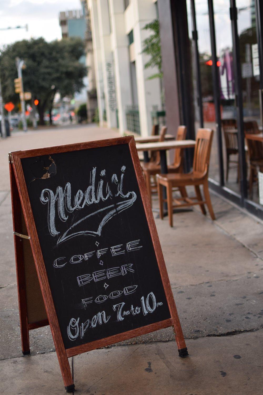 Caffe Medici is open 7 a.m.-10 p.m.