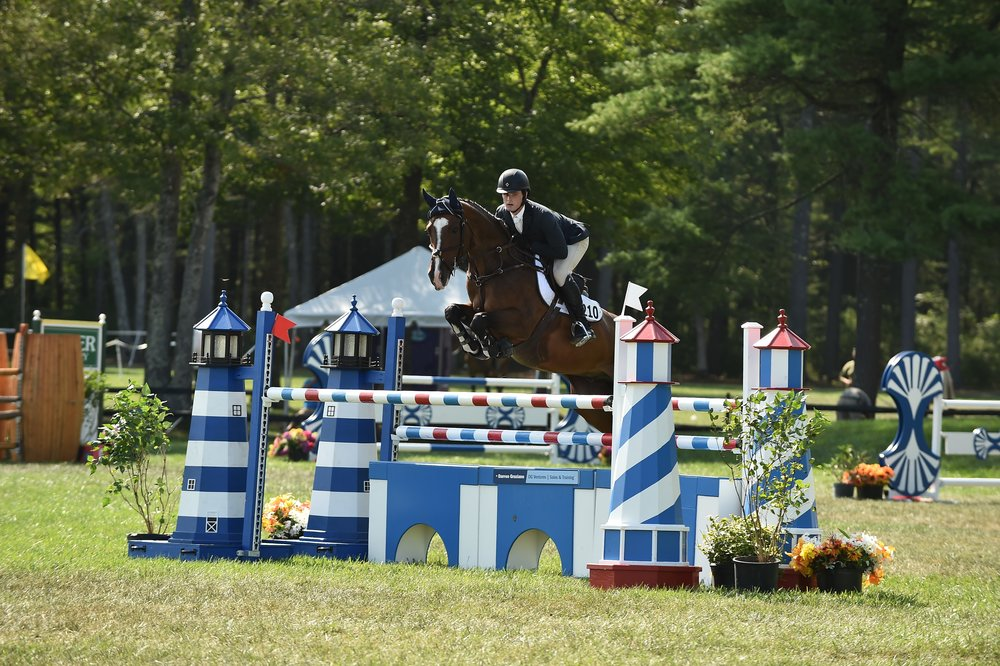 Aidan Kileen and Casanova p.b. Victorious in M&W Horses, Inc.$7,500 Speed Derby